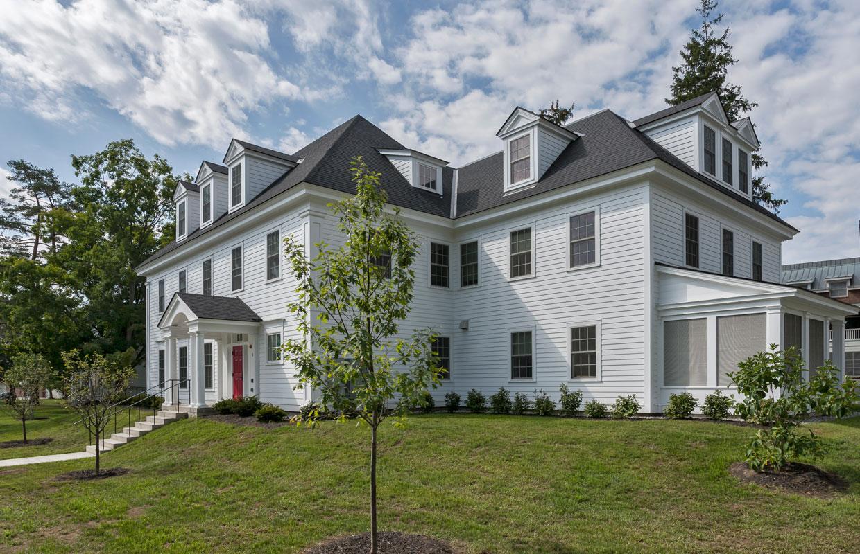 large white sorority house