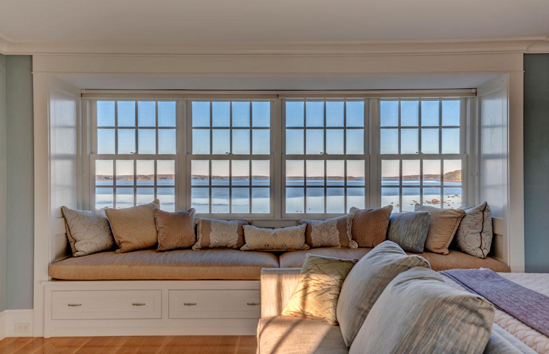 long window bench seat