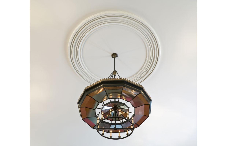 light fixture view from below